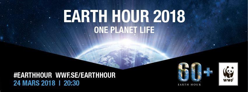 Earth Hour 2018 Mullsjö