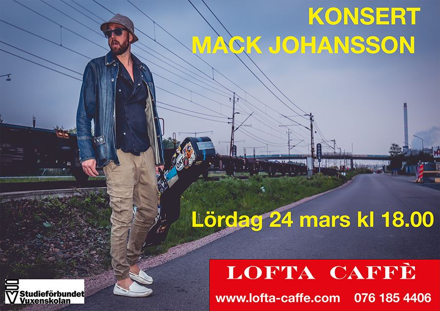 Konsert med Mack Johansson