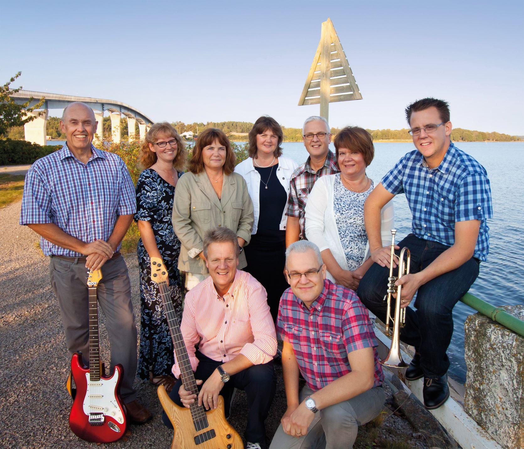 Musik i sommarkväll på Svartö med Senorenteamet