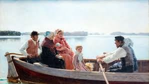 Föreläsning på Ålands konstumuseum: Dopfärden