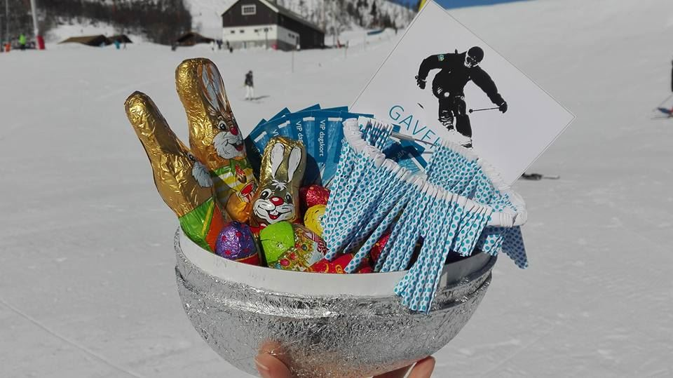 The Golden egg hunt at Slaatta Skisenter