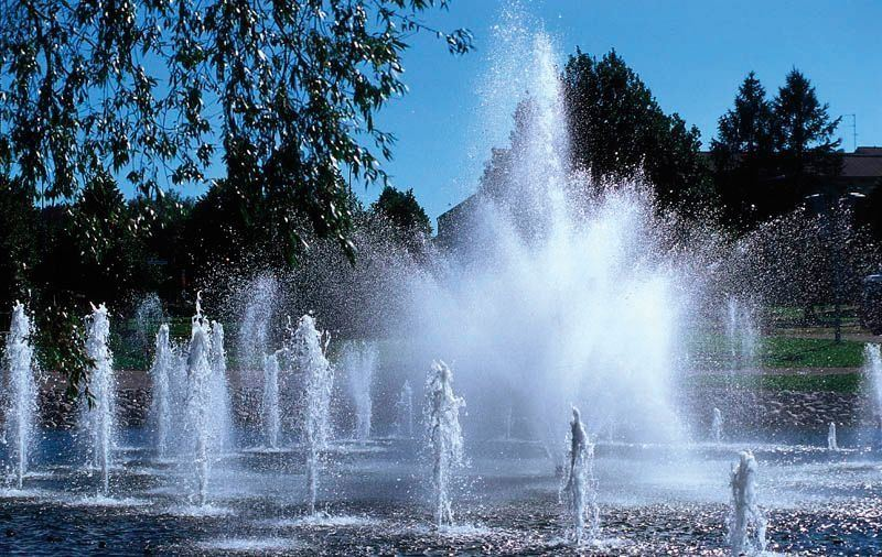 Lahti Harbour | Water Organ, the musical fountain