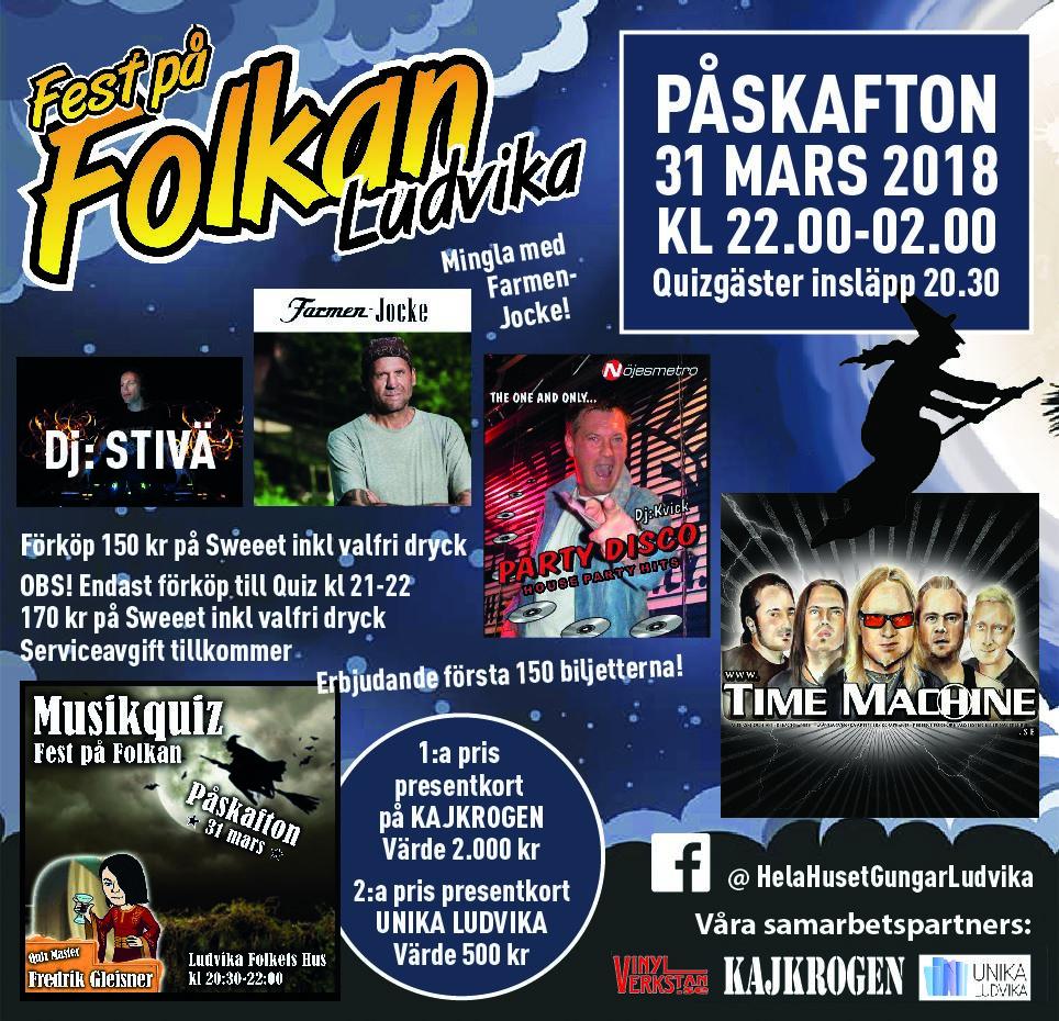 Fest på Folkan - Ludvika