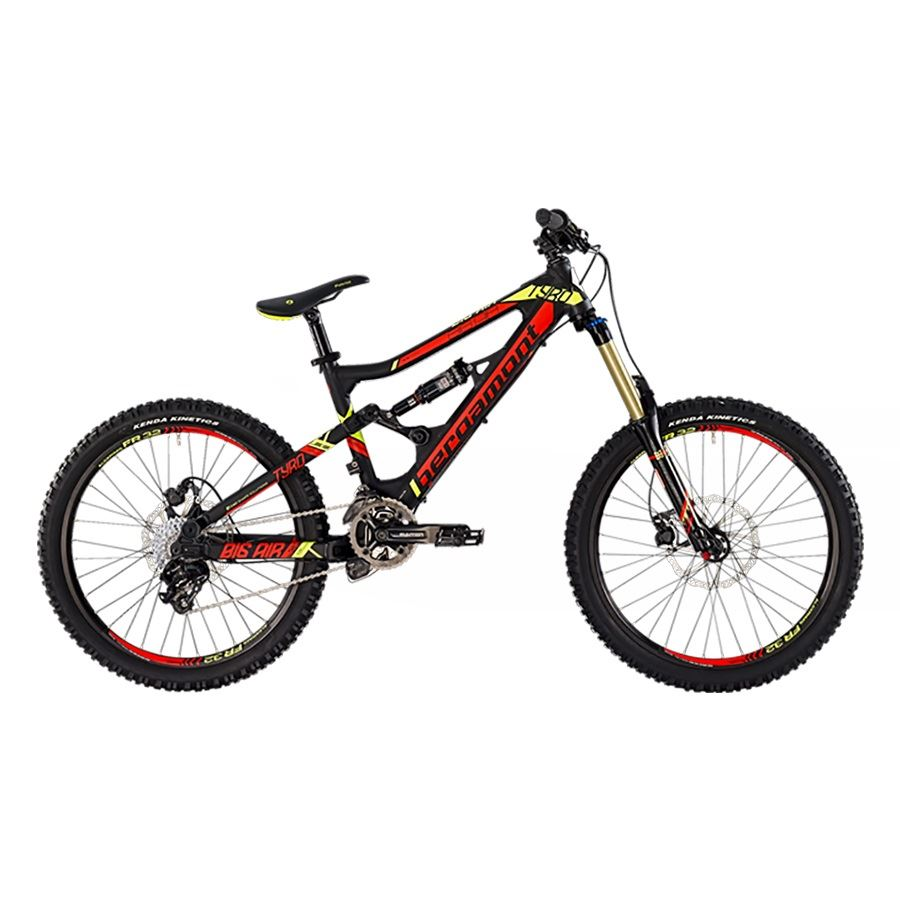 DH Sykkel Junior | Bergamont Big Air Tyro 24""