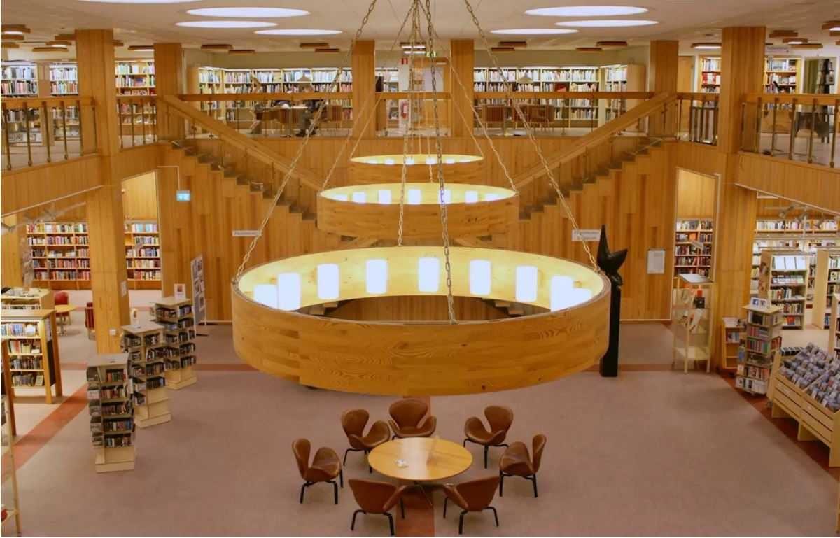 Digitala torget på Stadsbiblioteket