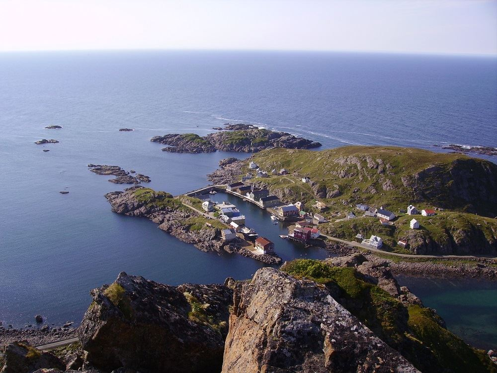 Nyksund Spa & Hiking Club, Dronningruta (Königinnen Weg. Nyksund - Stø)