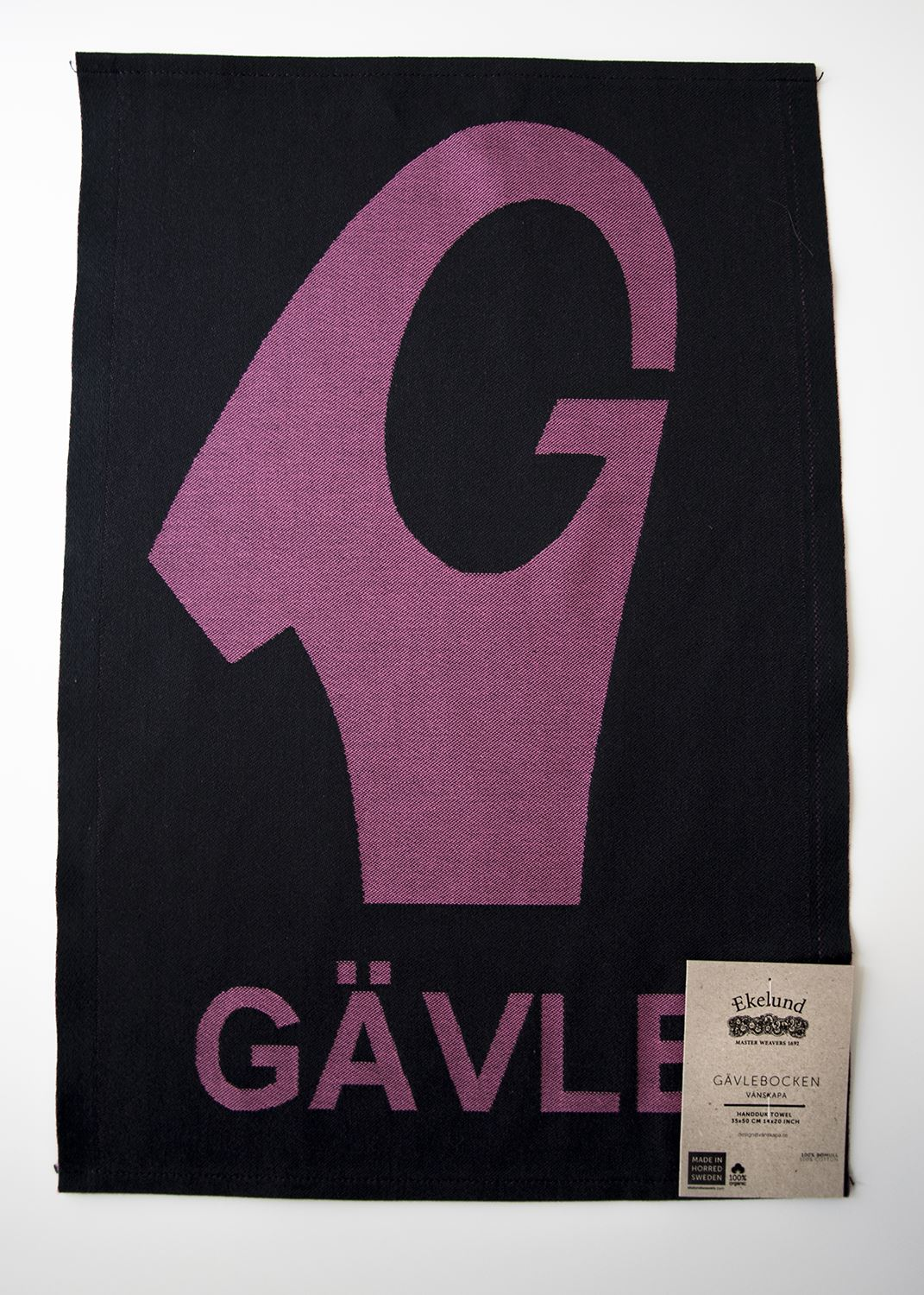 Hand Towel - the Symbol of Gävle