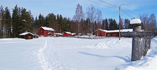Julmarknad vid Mockfjärds gammelgård