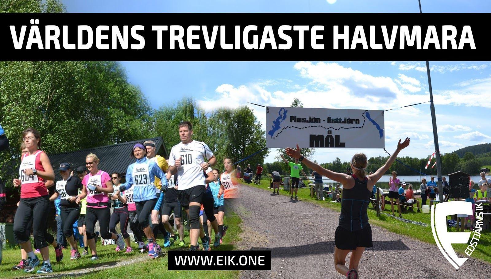 Half marathon Flosjön - Edstjärn 21 kilometers