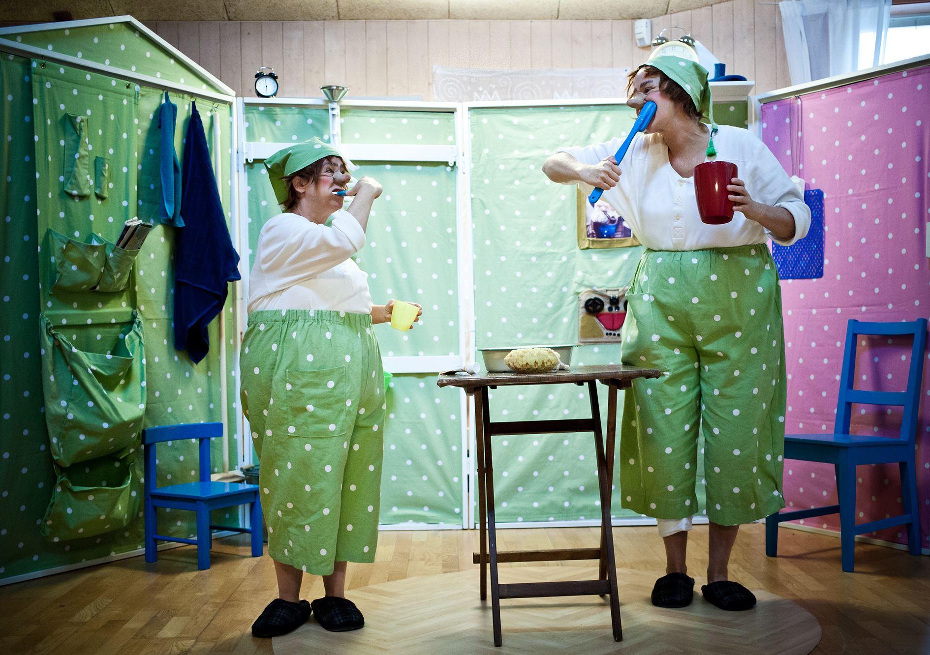 Barnteater: Stortok och Lilltok