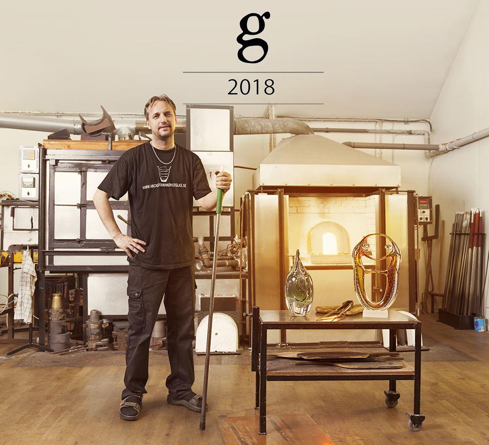 GLASKONST 2018 PÅ MICKEJOHANS KONSTGLAS