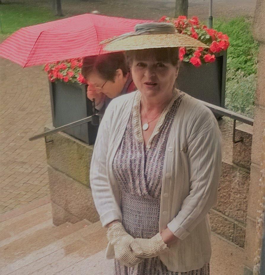 Rouva Lind muistelee vuotta 1918 -rooliopastus