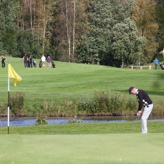 Inger Nordin, Golf runt Siljan Tour - Greensome Kanonstart