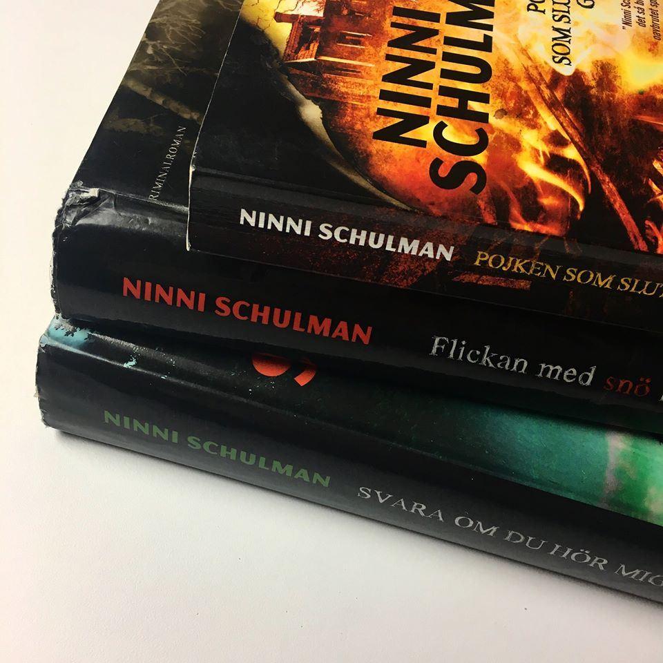 Författarbesök av Ninni Schulman