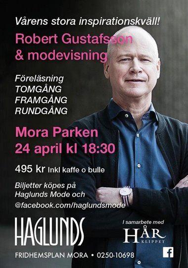 Inspirationskväll med Haglunds Mode och Robert Gustafsson