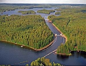 The Kalkkinen Canal- historical sights
