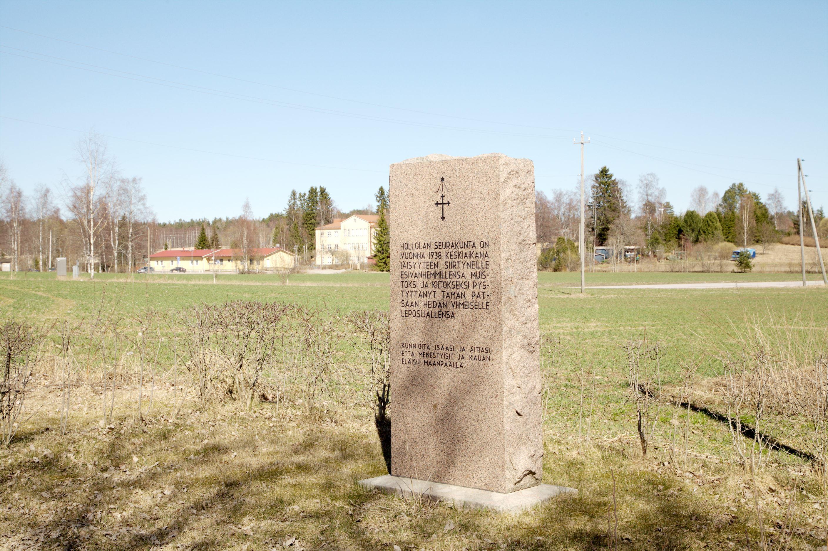 The Cemetery of Kirkk'ailanmäki- historical sights