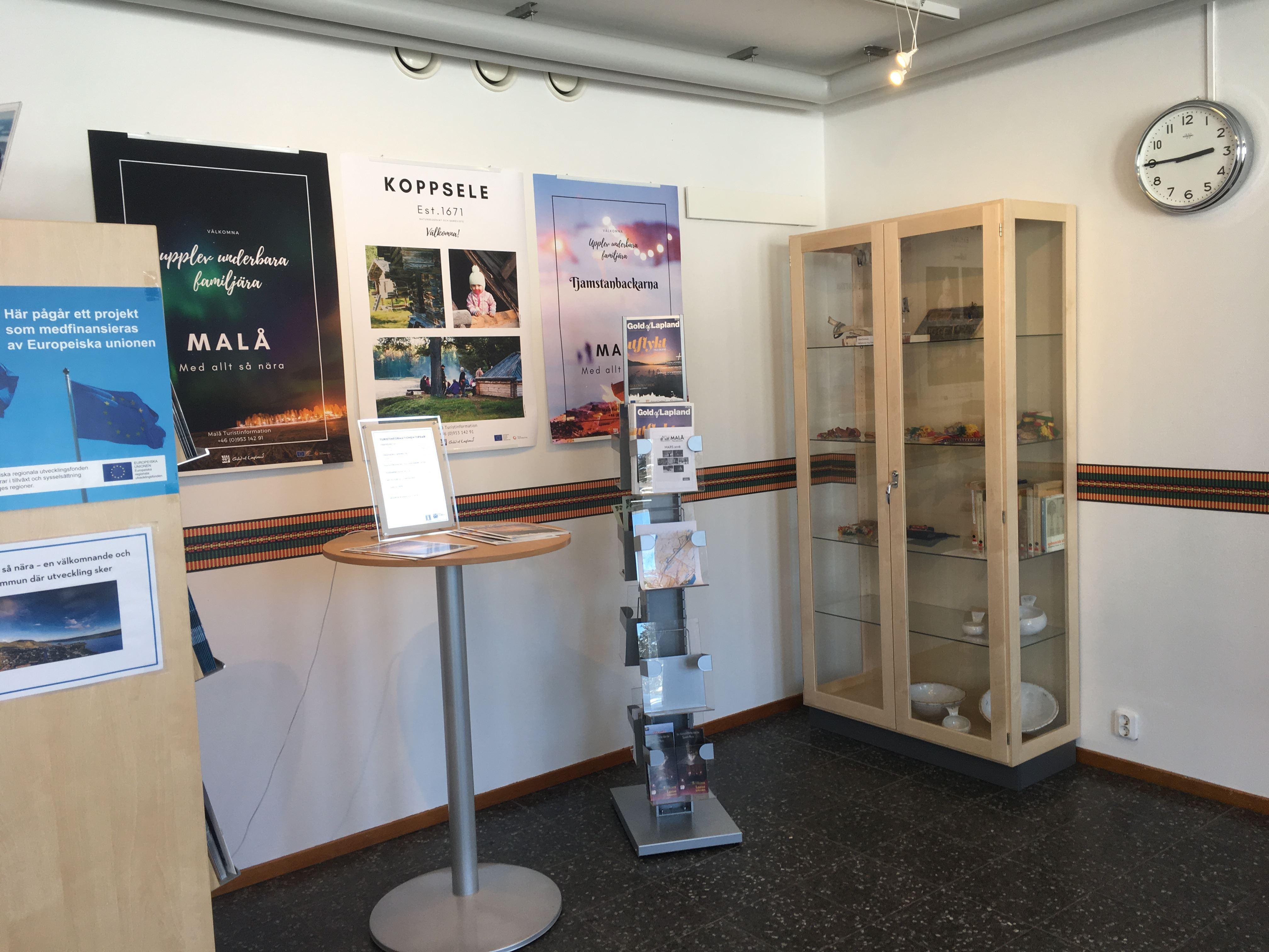 Invigning Malå turistinformation lokal prägel