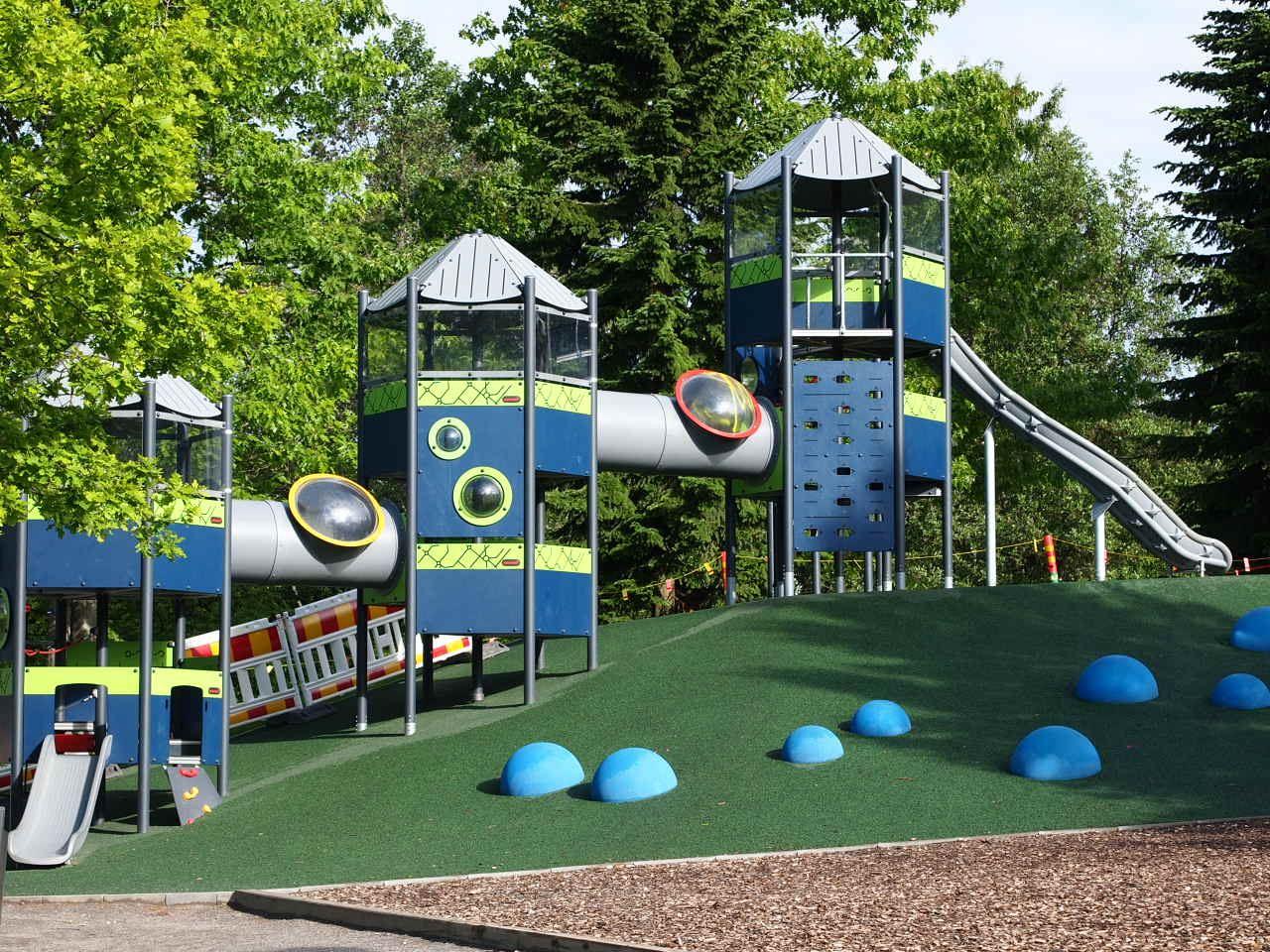 Launeen keskuspuisto | Launeen perhepuisto