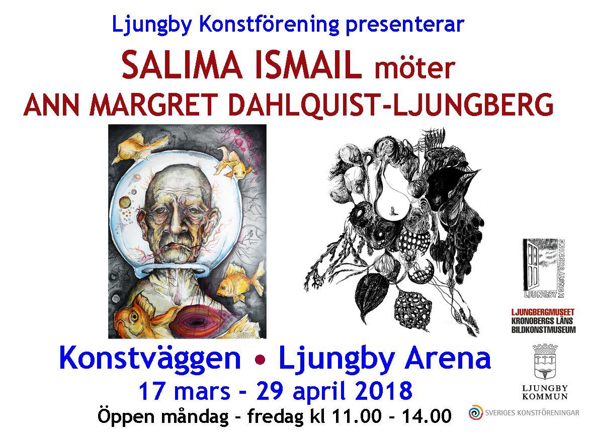 Konstutställning i Ljungby Arena
