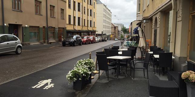 Teemaopastus | Rautatienkatu ja pormestari Lyytikäinen
