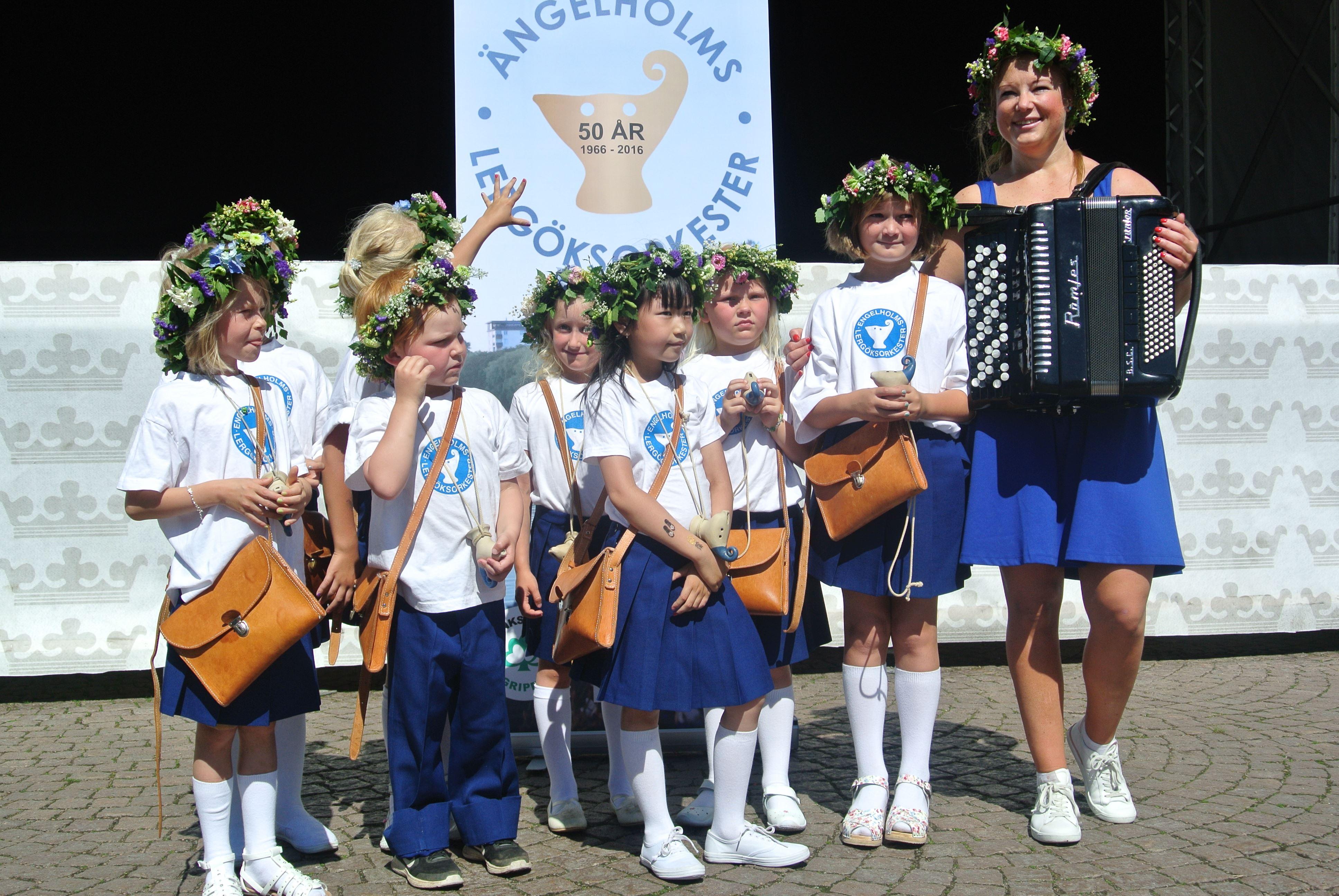 Konsert Lergöksorkestern Engelholm och Marching Band