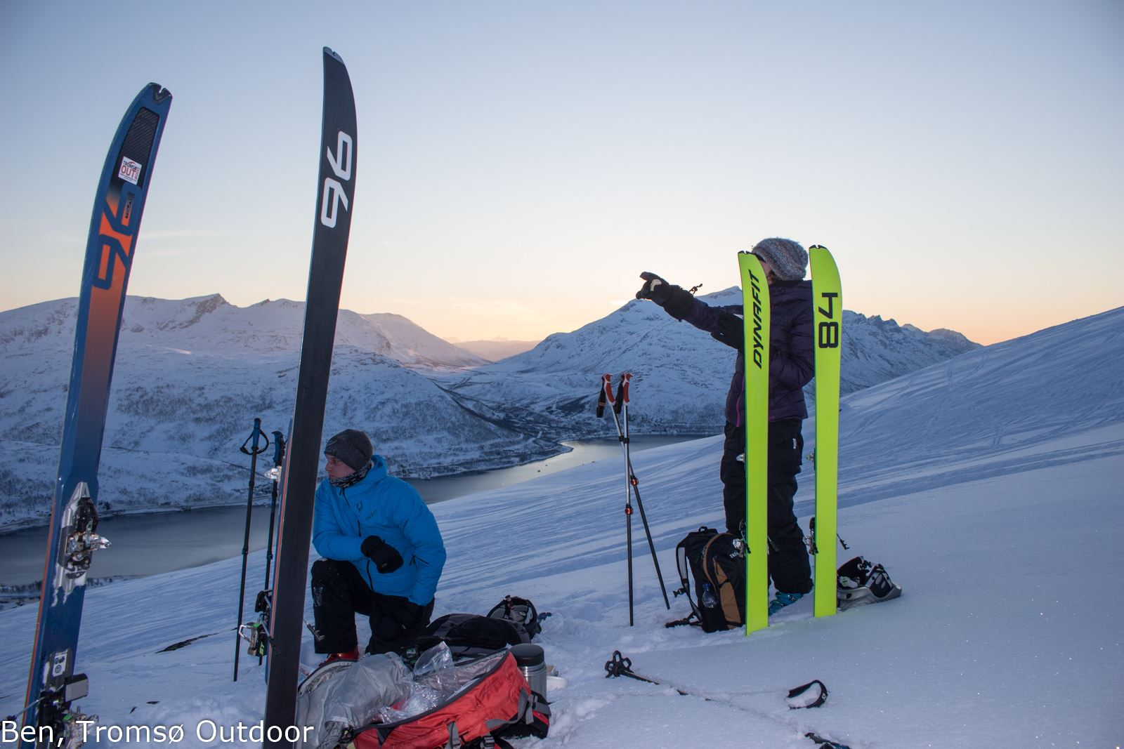 Introduction to Ski Touring - Guided trip for Alpine skiers