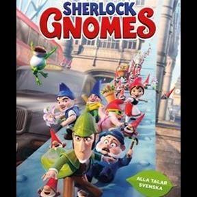 Kulturveckan - Biomatiné - Mästerdetektiven Sherlock Gnomes