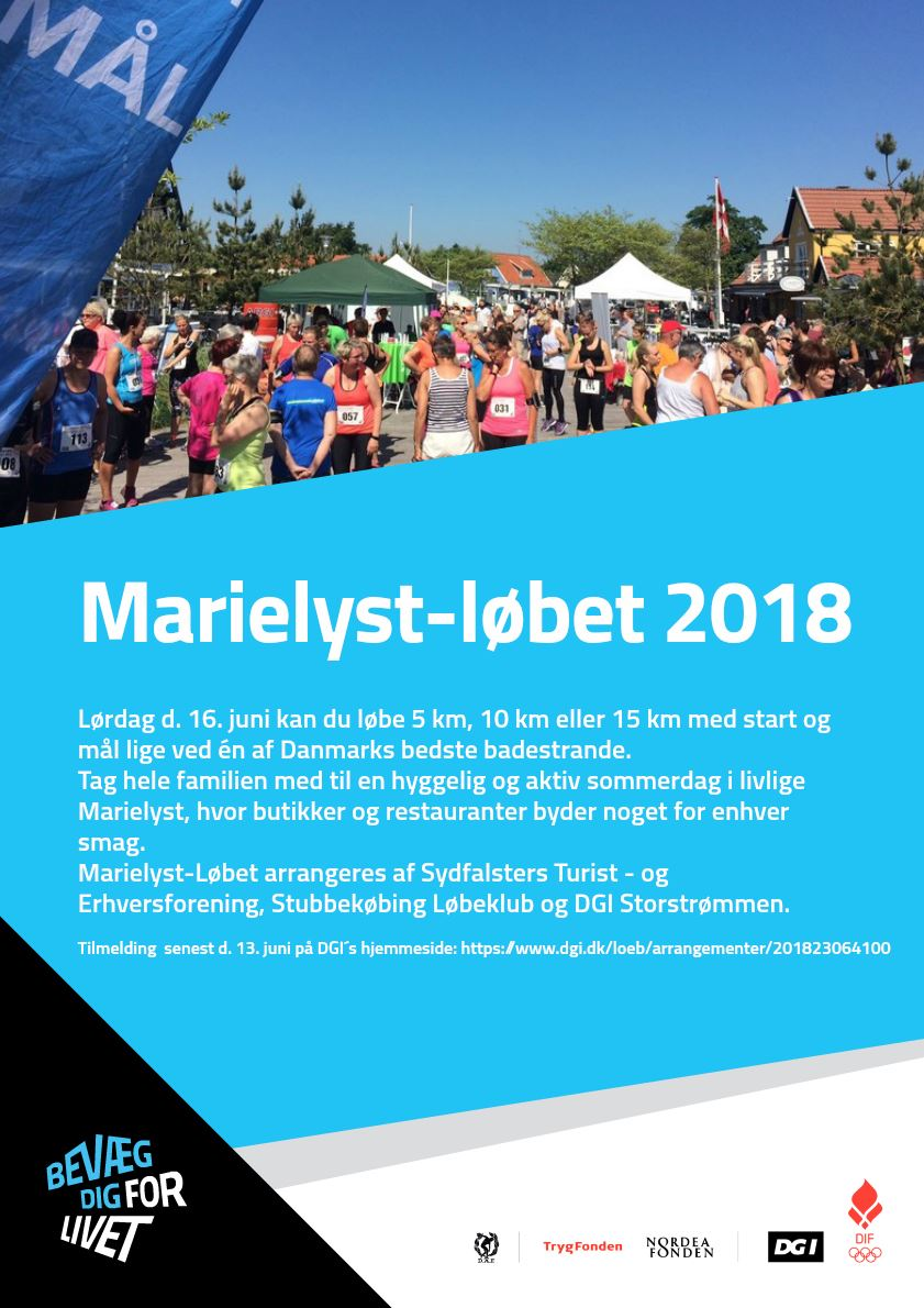 Marielyst løbet 16. juni 2018