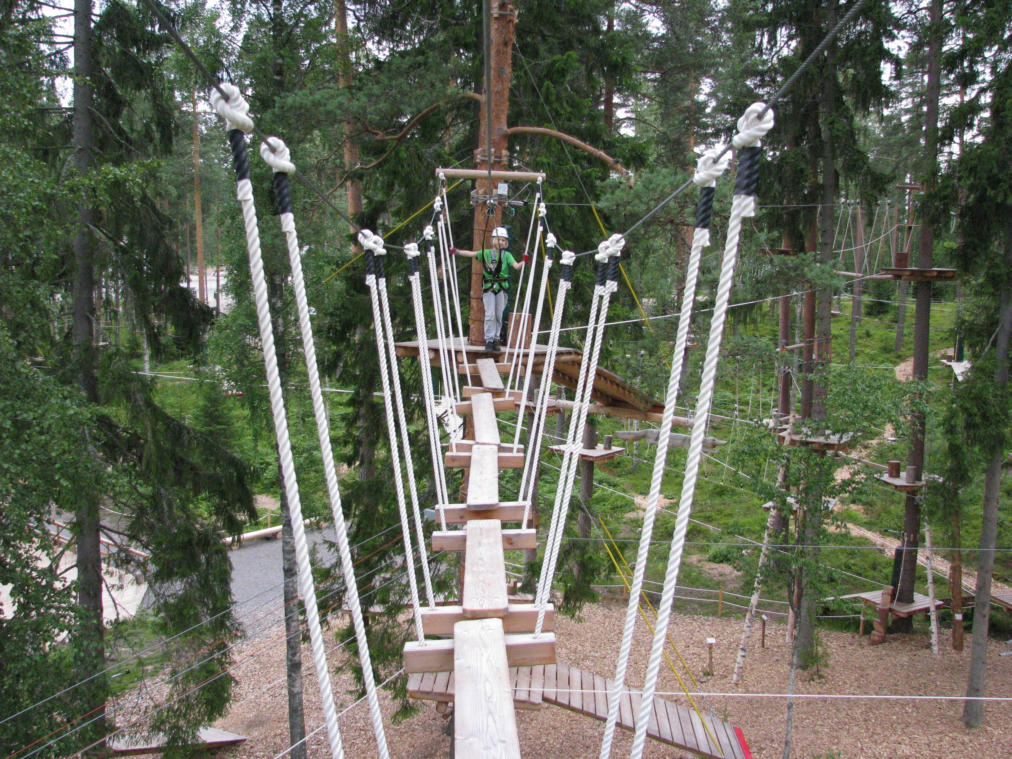 Pajulahden Seikkailupuisto | Pajulahti Adventure Park