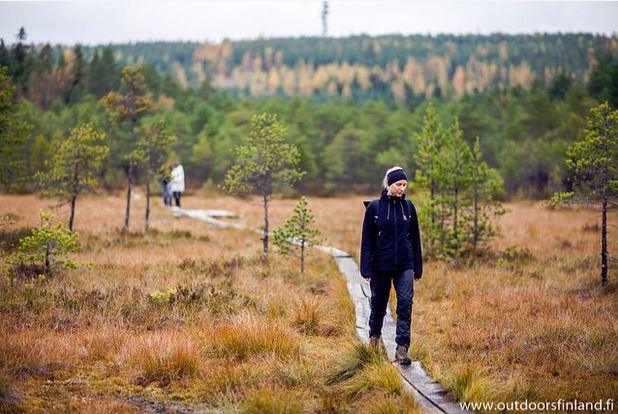 Around the Tiilijärvi lakes (Tiilijärvien ympäri)