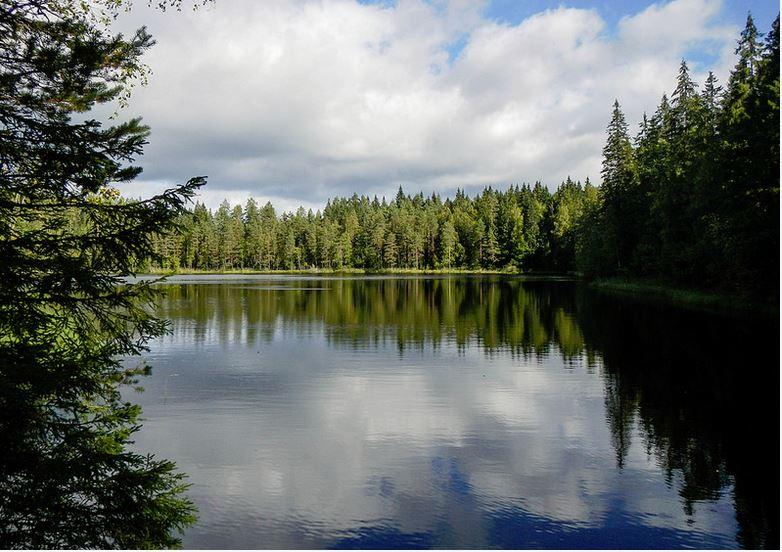 Evo hiking area | Aurinko-Ilves route