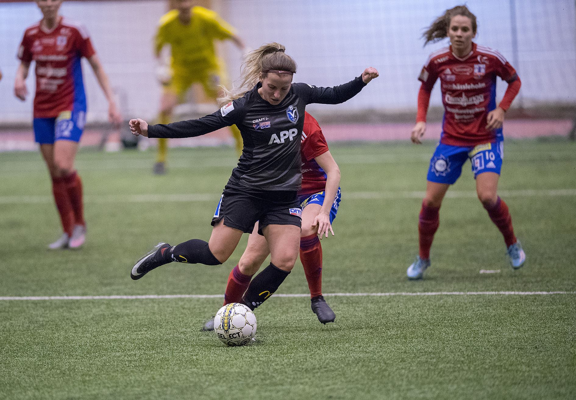 Fotboll: Växjö DFF - Djurgårdens IF FF