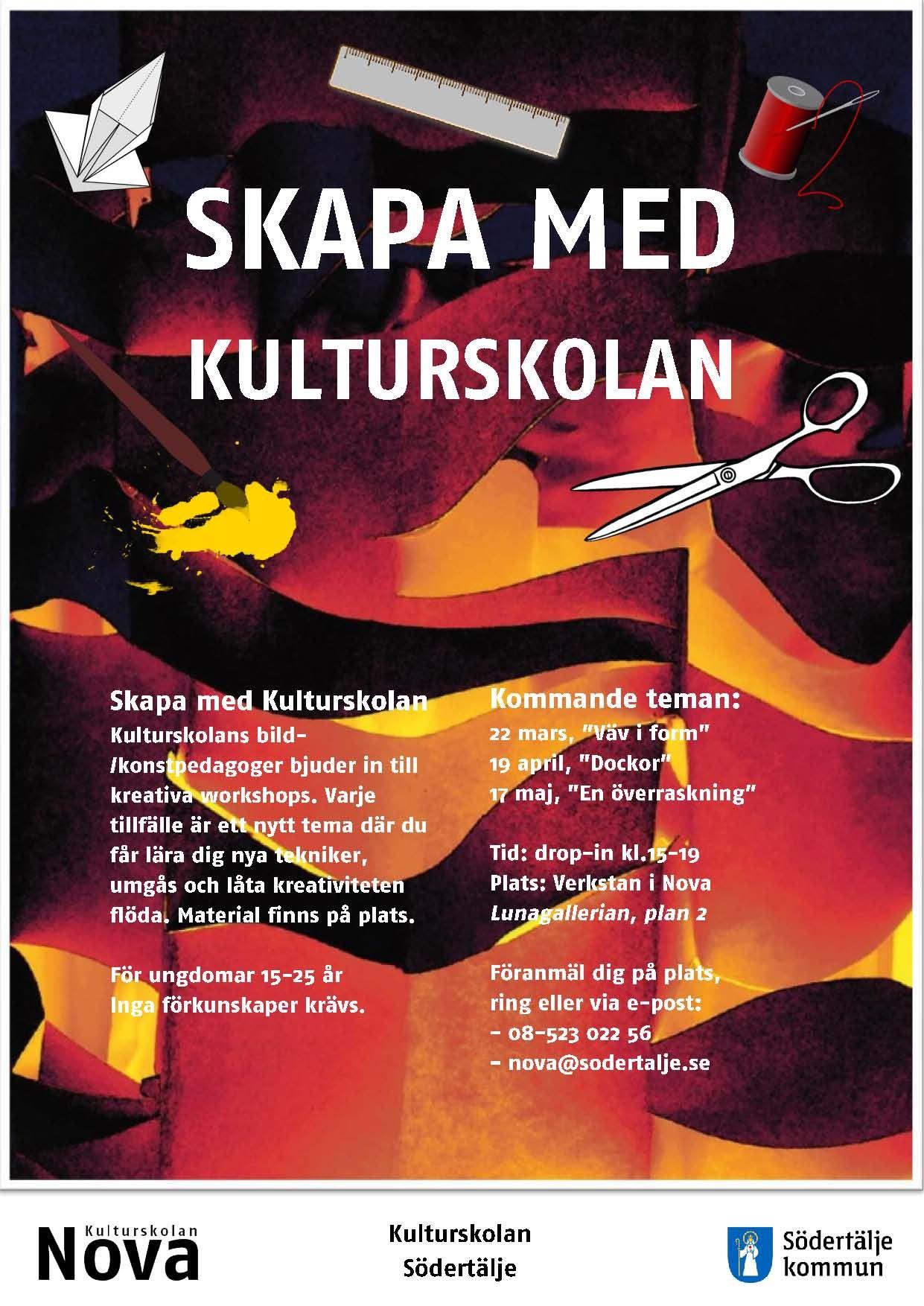"""""""Skapa med Kulturskolan"""""""