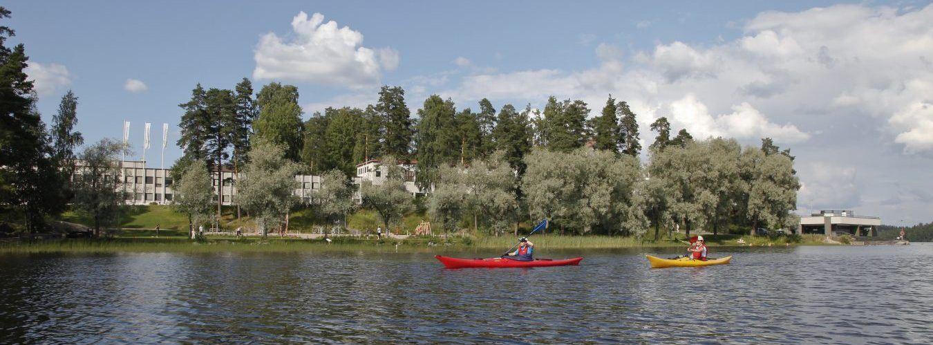Canoeing in Pajulahti