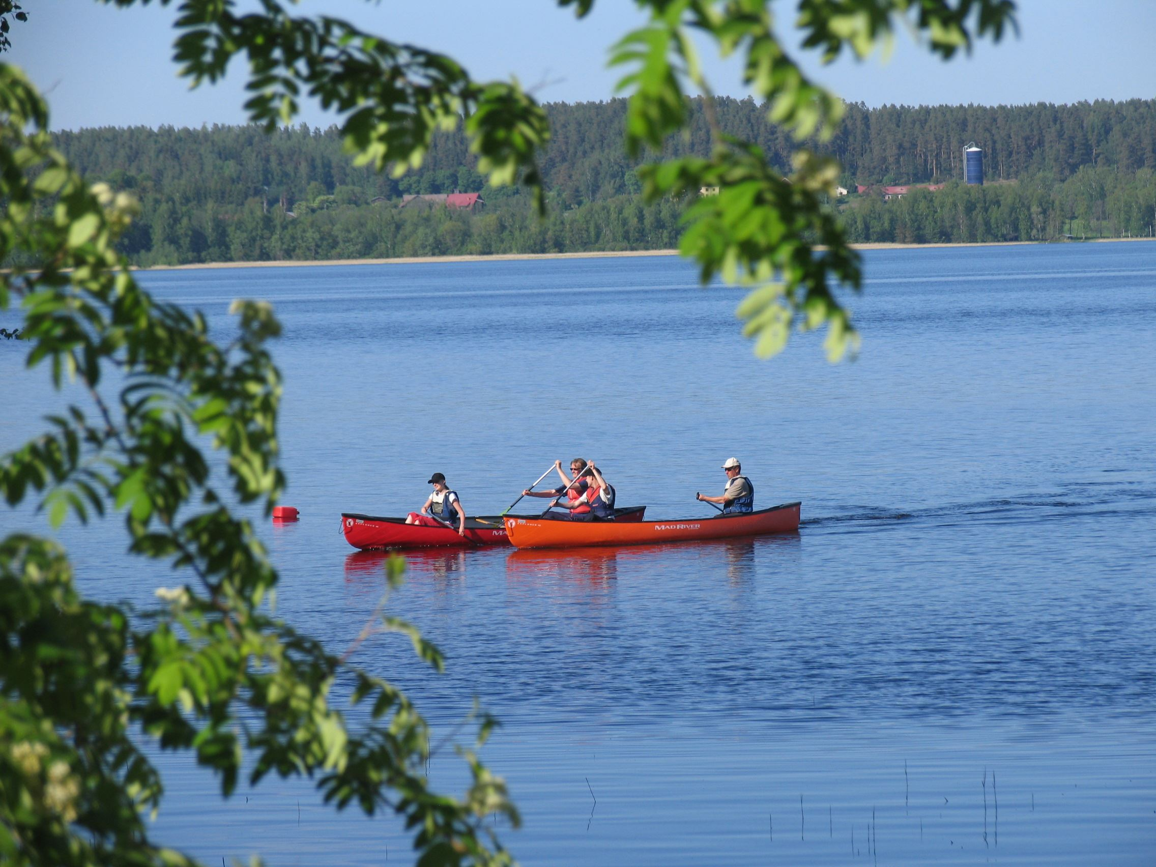 Lehmonkärki in Asikkala -canoeing adventure