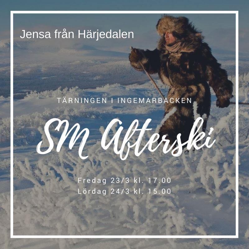 SM-Afterski med Jensa från Härjedalen