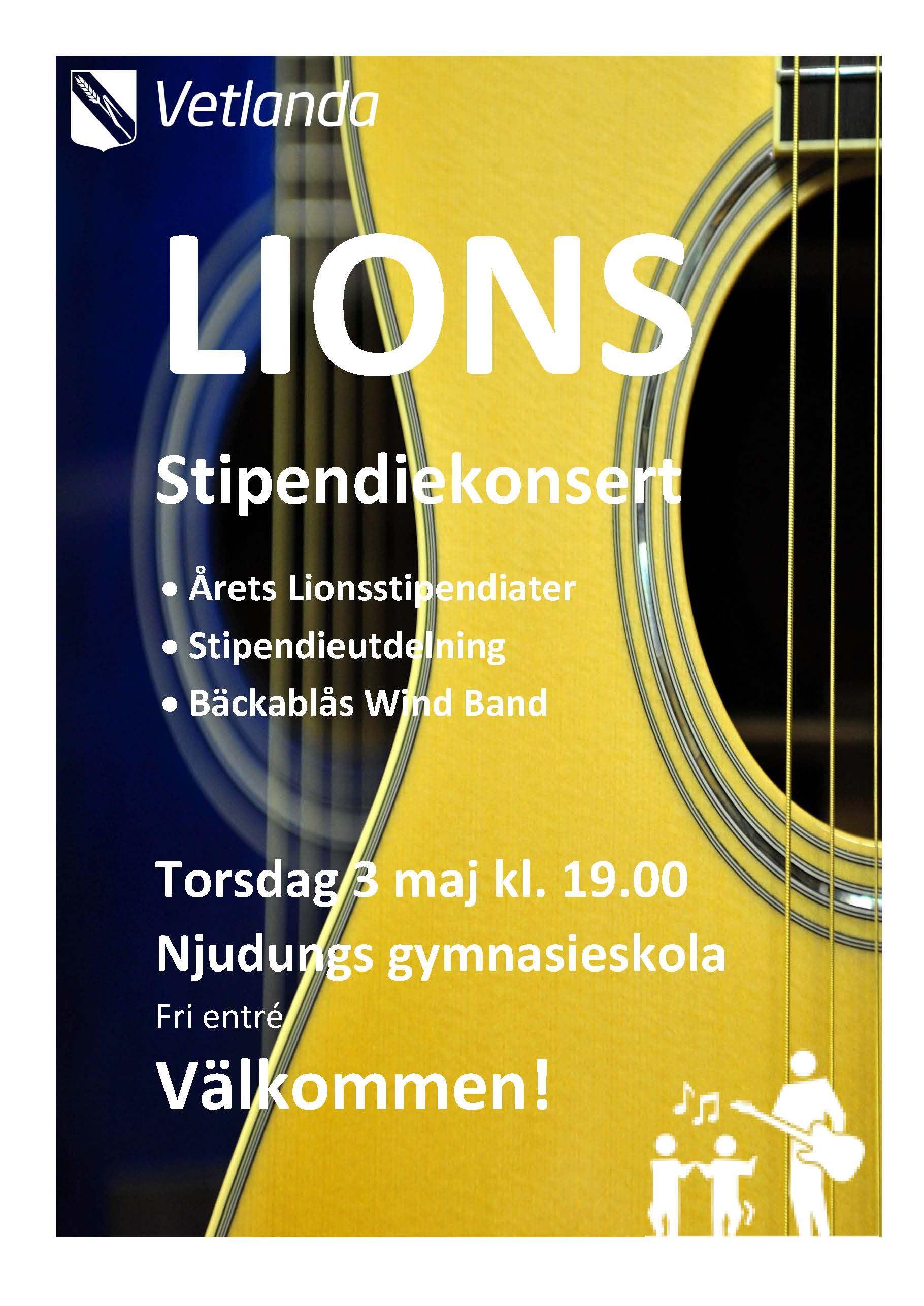 Lions Stipendiekonsert