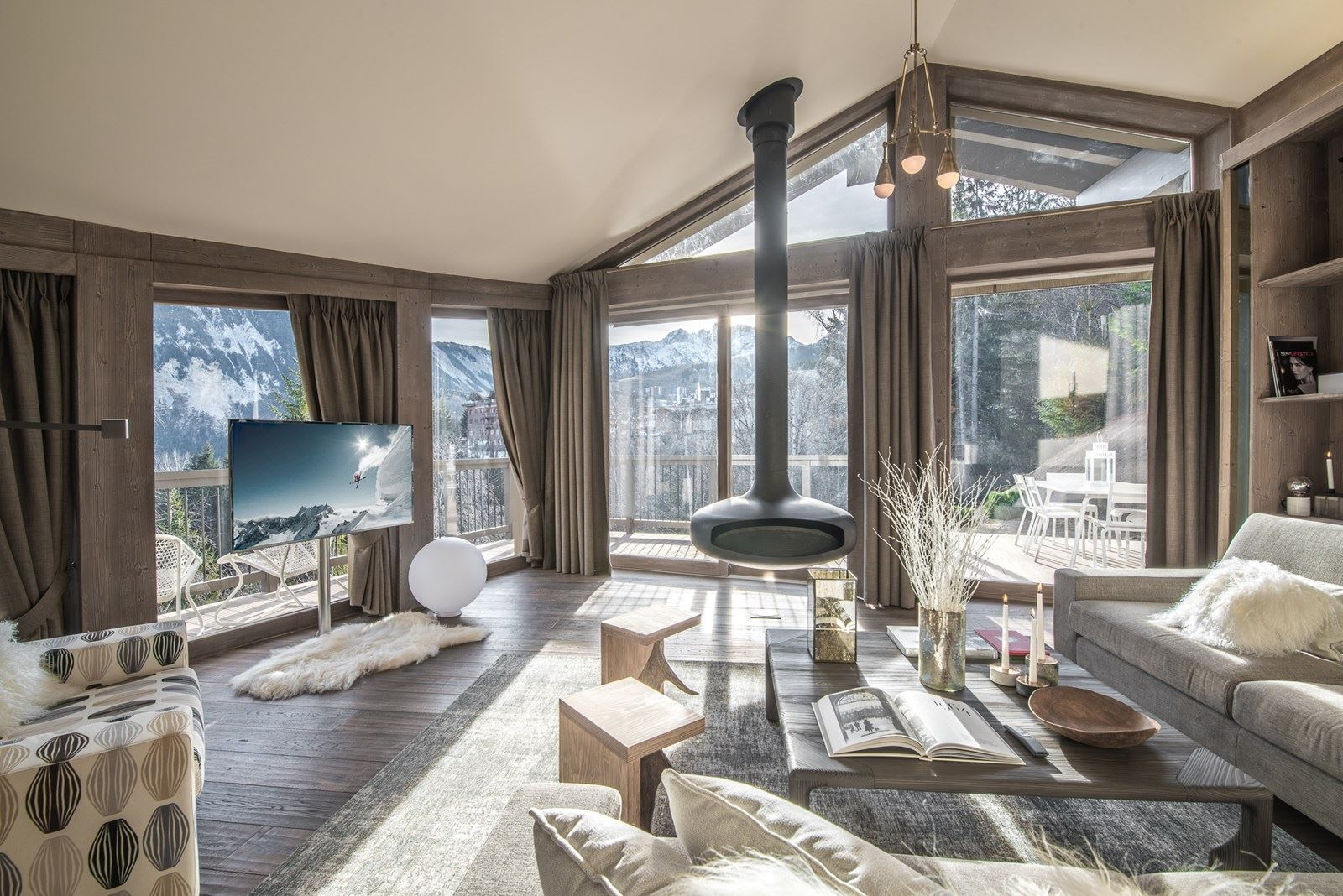 6 rooms, 12 people / Chalet Belle Brise (mountain of exception)