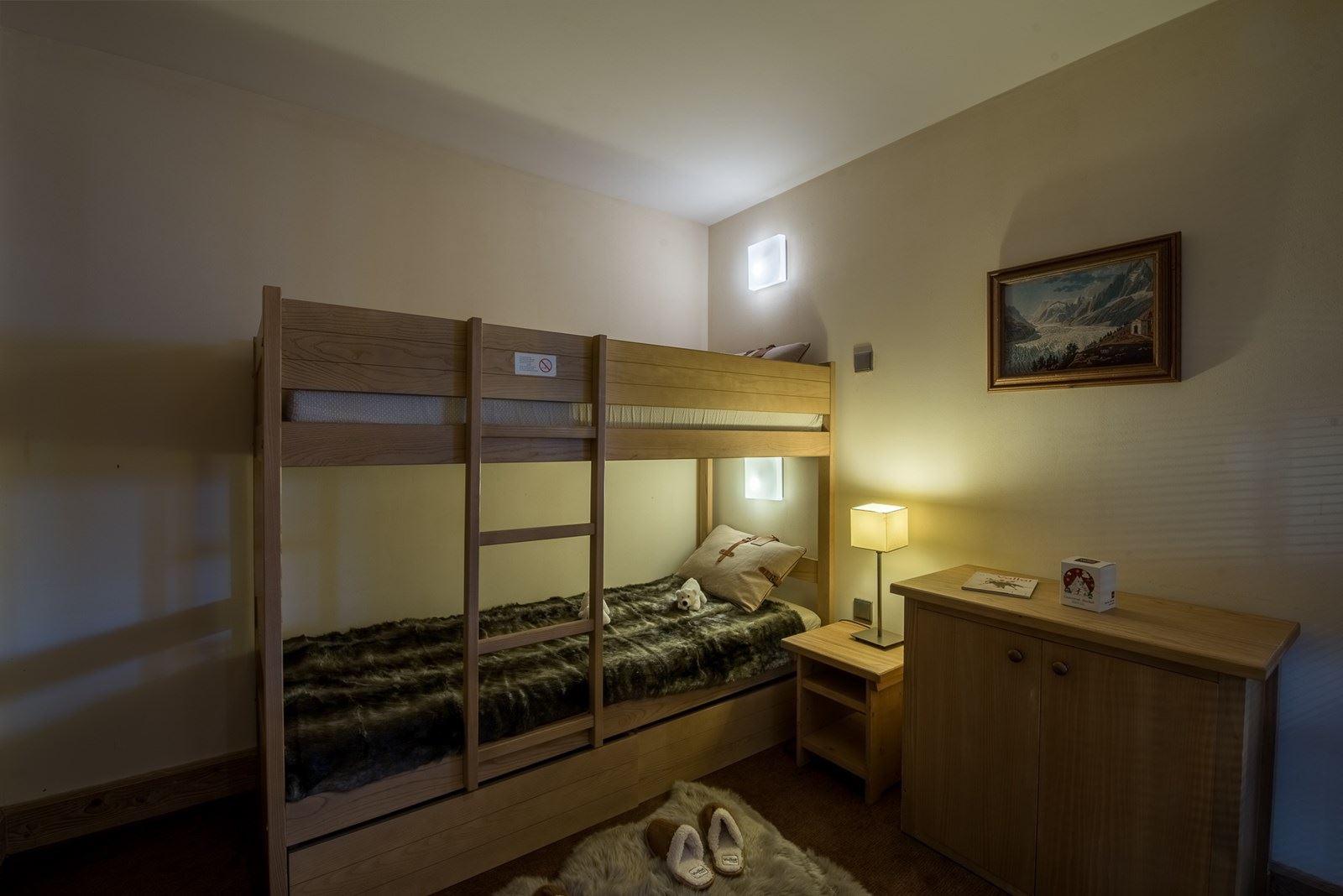 3 rooms 4 people / Chalet du Forum B215