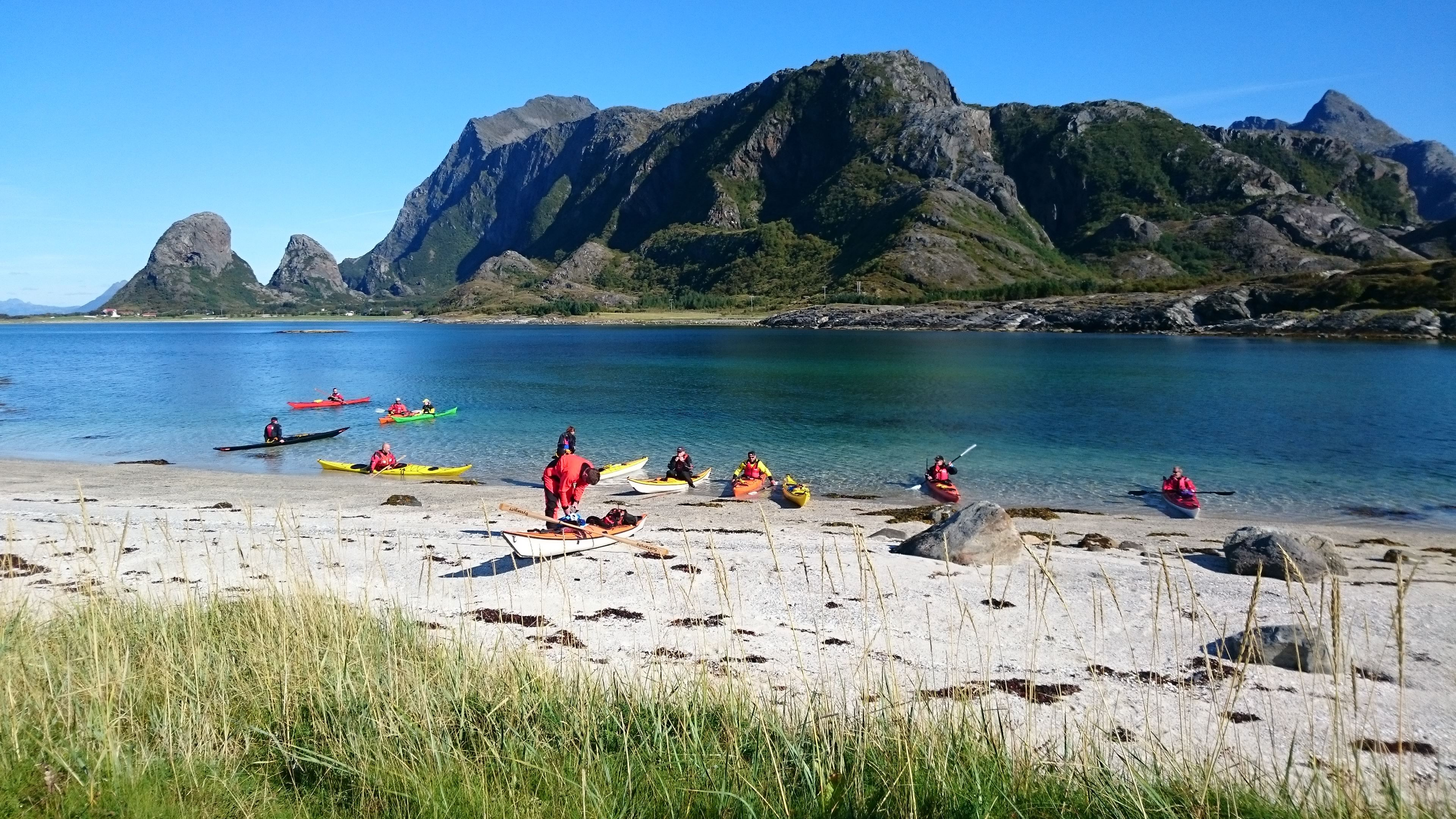 Guided 3-hour kayaktrip