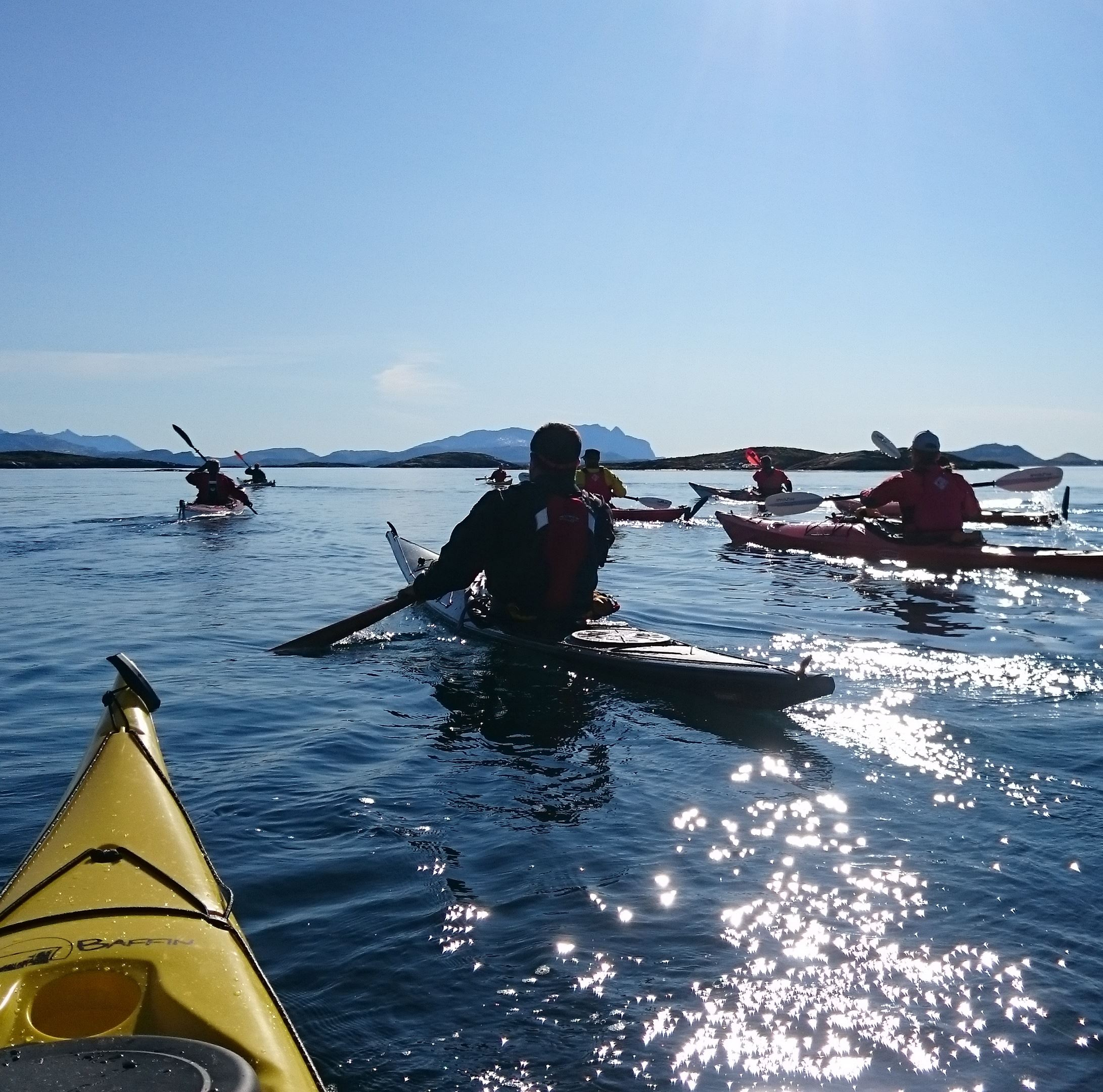 Guided 3-hour kayaktrip
