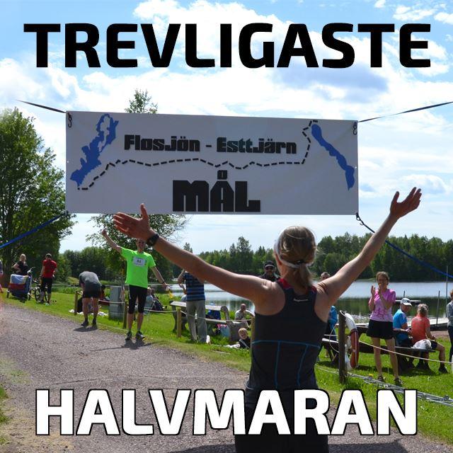Halvmaran Flosjön - Edstjärn 21 km