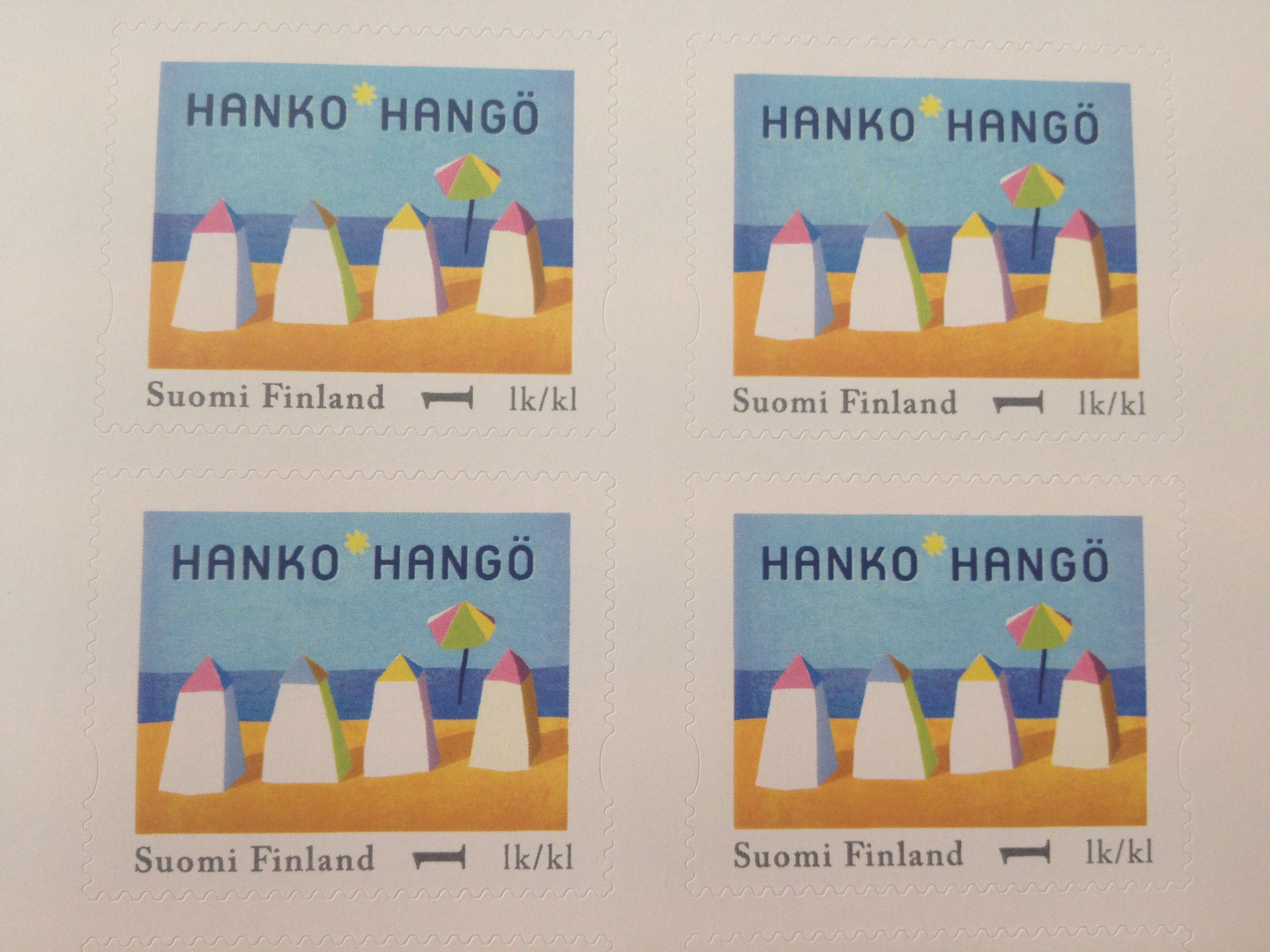 Hanko stamps