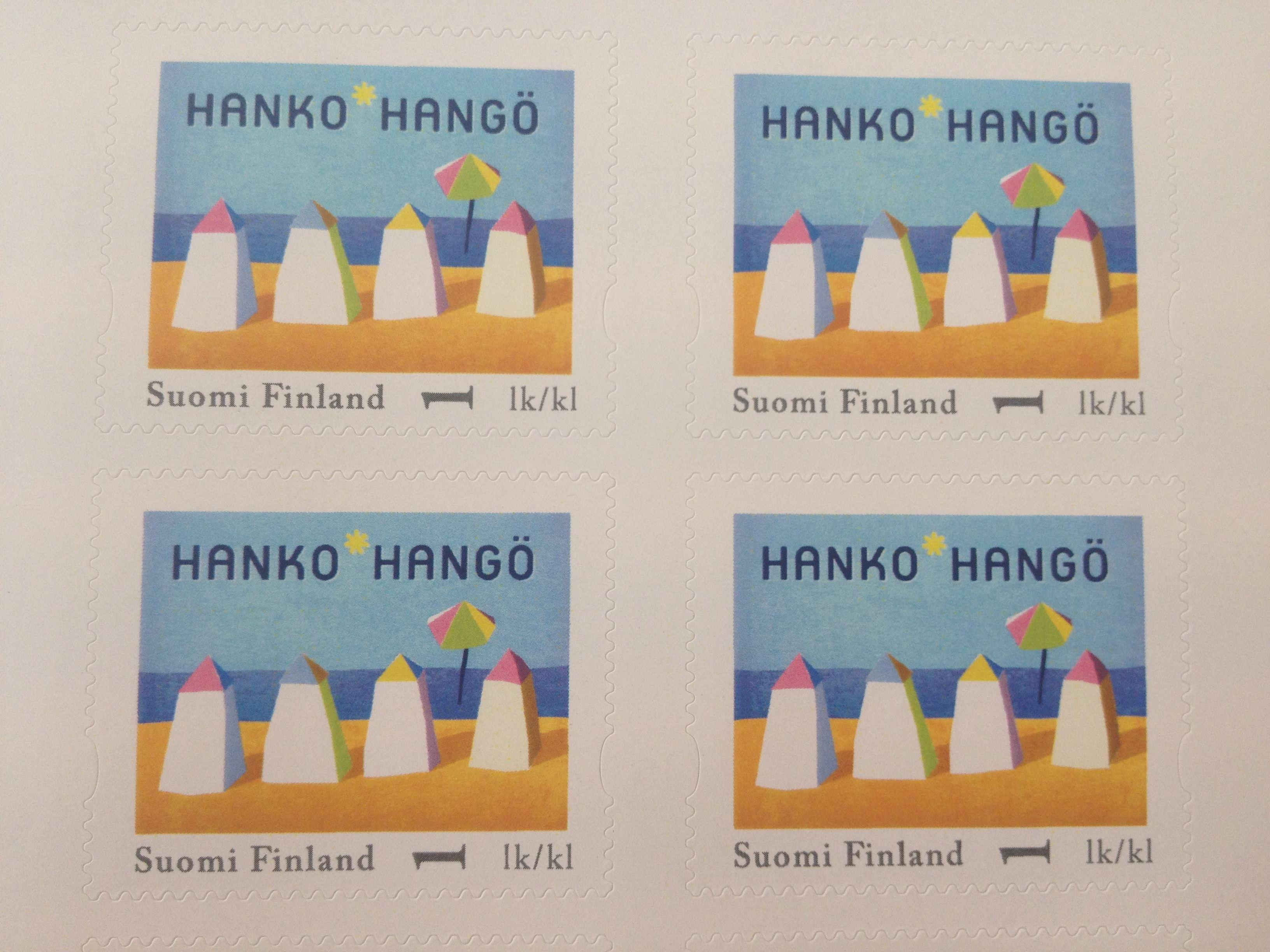 Hanko postimerkit