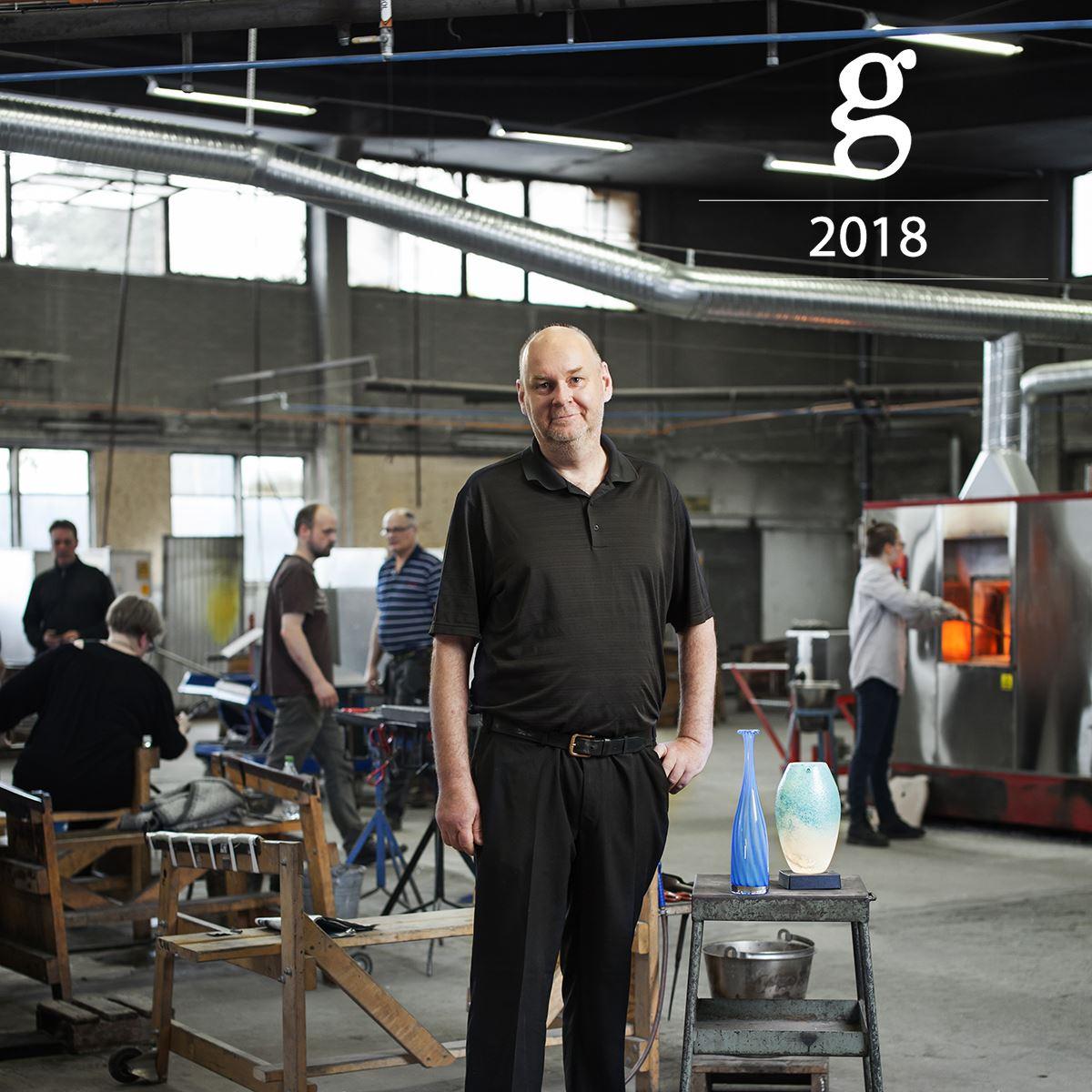 GLASKONST 2018 PUKEBERG