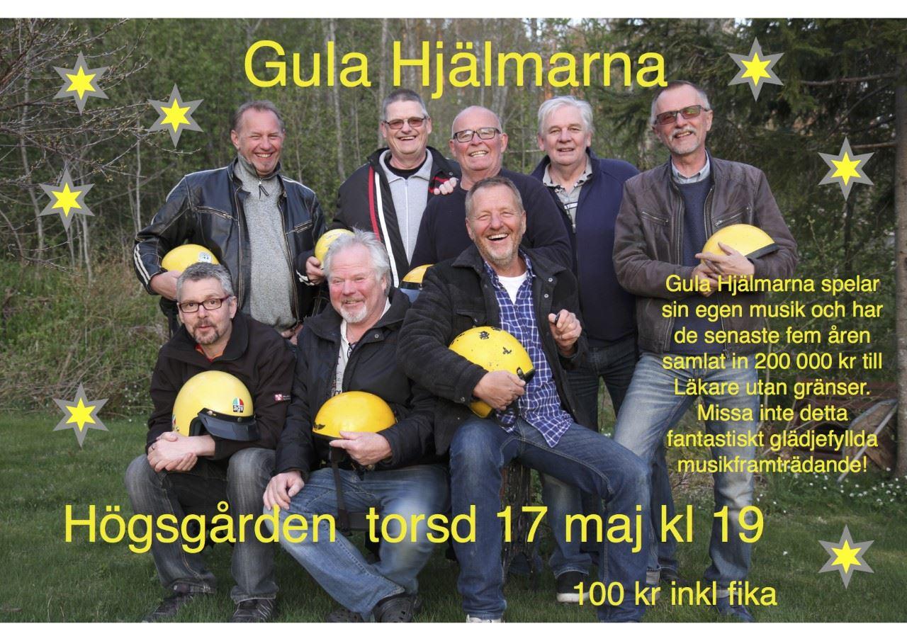 Olle Hillström, GULA HJÄLMARNA