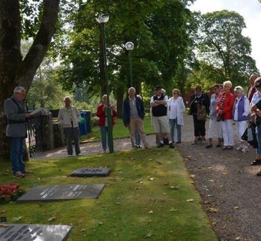 Kyrkogårdsvandring i Skepperstad