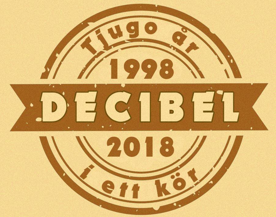 Jubileumskonsert med Kören Decibel - 20 år i ett kör