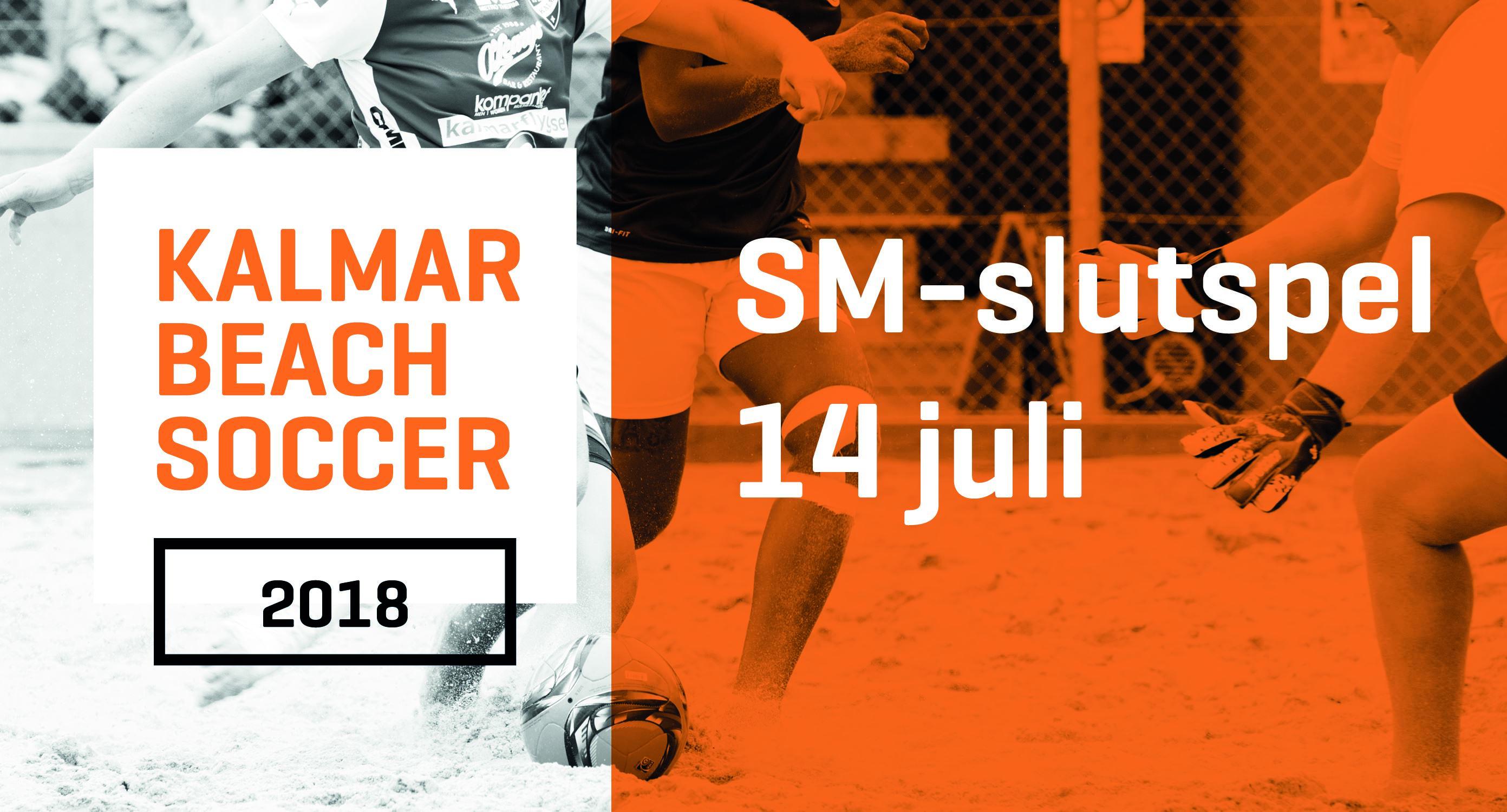 Kalmar Beachsoccer SM slutspel 14 juli